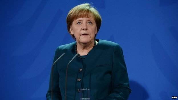 Angela Merkel, 14 February 2014