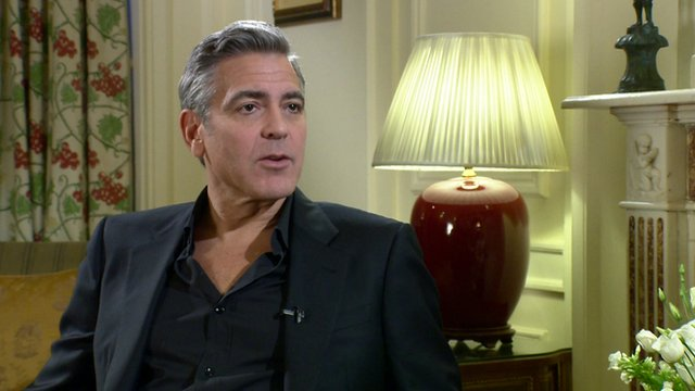 George Clooney on The Monuments Men
