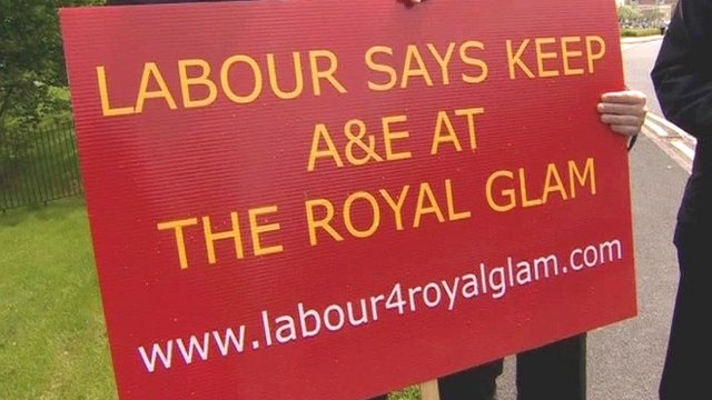 Protest sign held by Chris Bryant MP