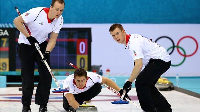 Great Britain's men curlers