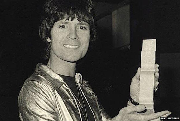 Cliff Richard at the 1977 Brit Awards
