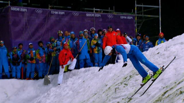 Aerial Ski Jump