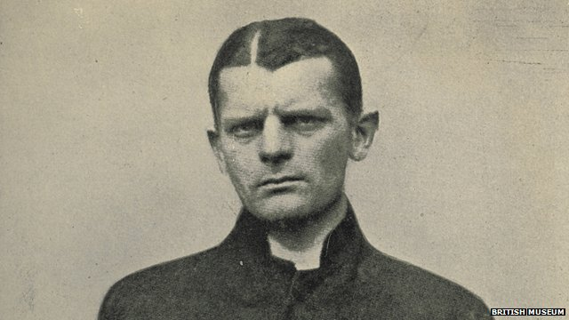 Carl Lody, a German spy shot at the Tower of London during WWI
