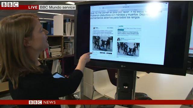Cordelia Hebblethwaite on The World's Newsroom