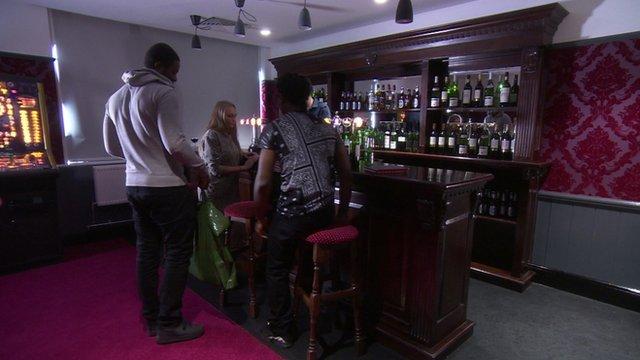 The 'fake' pub