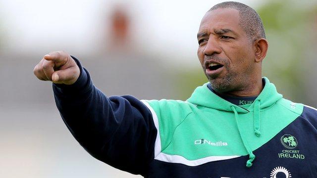 Ireland coach Phil Simmons