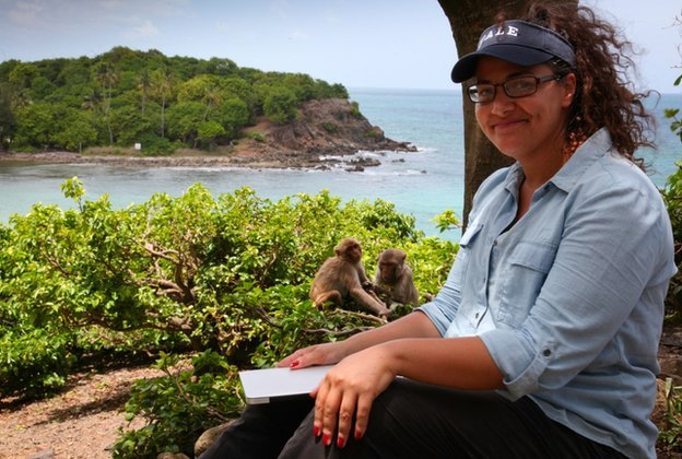 Dr Laurie Santos and monkeynomics