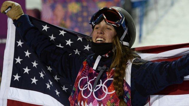 USA's Maddie Bowman