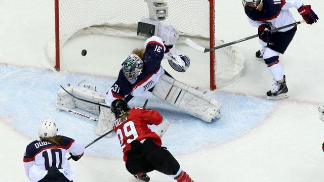 Canada snatch women's hockey win from USA
