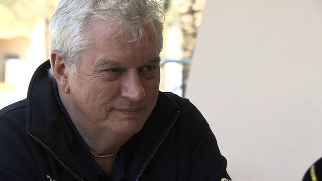 Williams's chief technical officer Pat Symonds