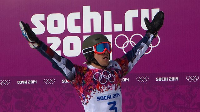 Russia's Vic Wild seals stunning snowboard double gold