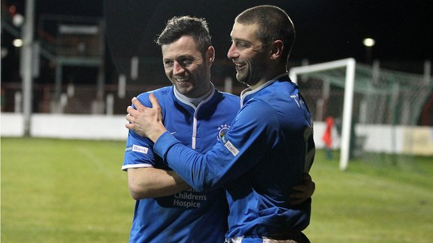 Ivan Sproule and Matthew Tipton