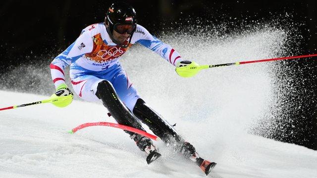 Sochi 2014: Austria's Mario Matt wins men's slalom