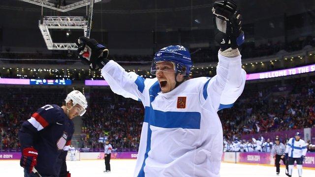 Finland's Jussi Jokinen
