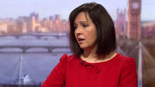 Caroline Flint MP on the Andrew Marr Show