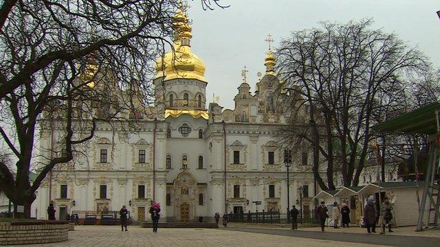 Kiev's Monastery of the Caves