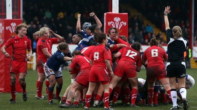 Wales Women v France Women