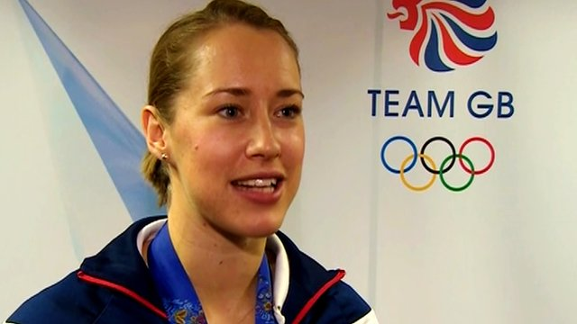 Lizzy Yarnold says she wants to inspire the next generation of British athletes