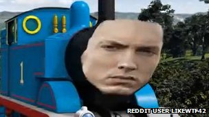 Eminem on Thomas the Tank Engine