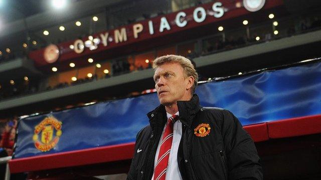 Man Utd boss David Moyes takes responsibility for defeat against Olympiakos
