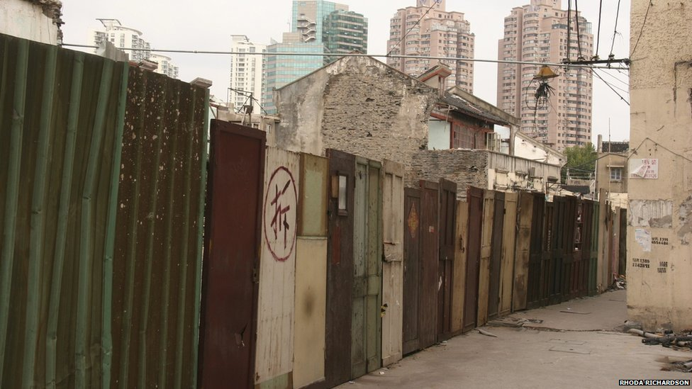 Doors in Shanghai