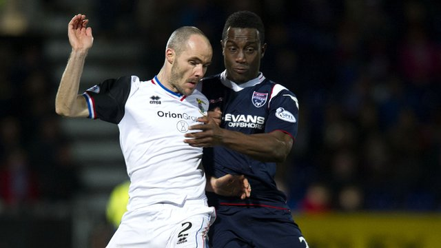 Ross County v Inverness Caledonian Thistle
