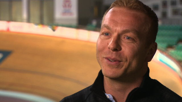 Sir Chris Hoy reminisces about the Manchester Velodrome