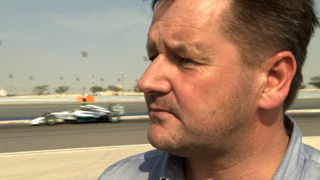 Pirelli's Paul Hembery