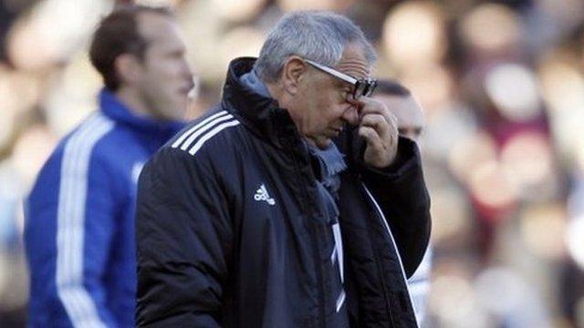 Felix Magath's Fulham remain bottom of the Premier League