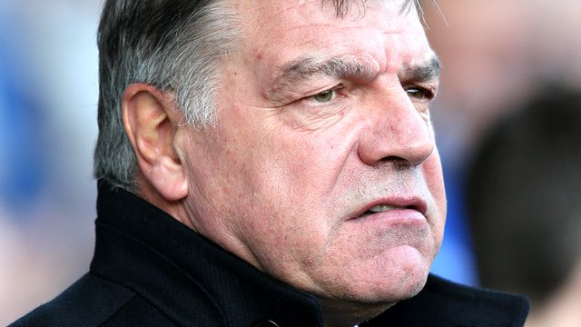 """Sam Allardyce bemoans """"wasted moments in the final third"""" after West Ham lost 1-0 at Everton."""
