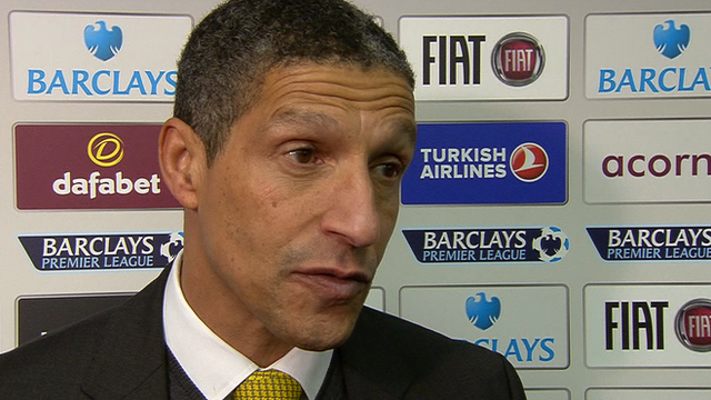Hughton rues Norwich's 'mad 15 minutes'