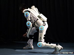 Cyberdyne's Hal range of exoskeletons is designed for the factory floor and for medical use