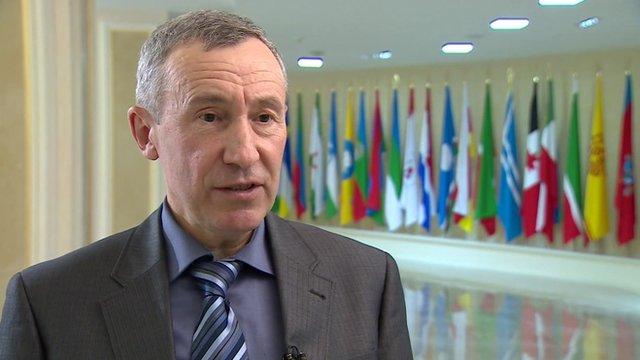 Andrei Klimov, Senator in the Federation Council
