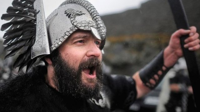 Viking march
