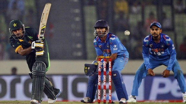 Pakistan won their match against India by one wicket on Sunday