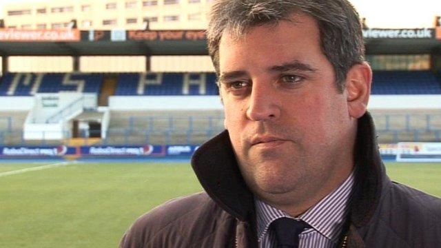 Cardiff Blues chief executive Richard Holland