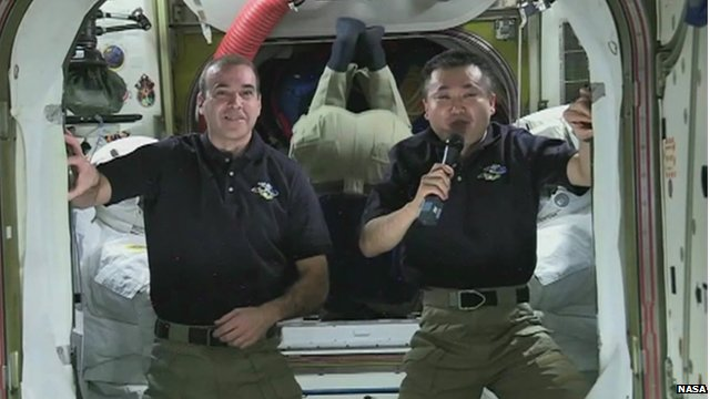 NASA and JAXA astronauts