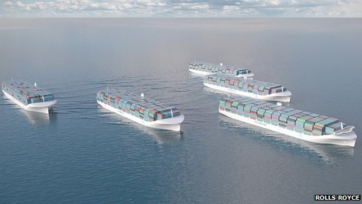 Unmanned ships