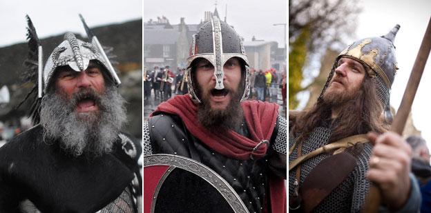 Viking re-enactments