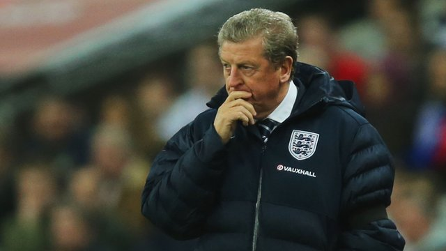 """England manager Roy Hodgson ponders """"difficult"""" selection"""
