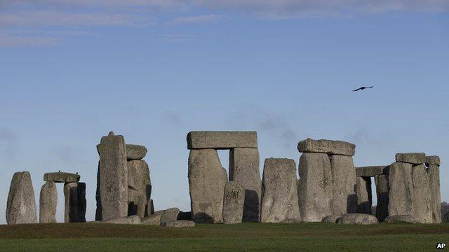 General view of Stonehenge