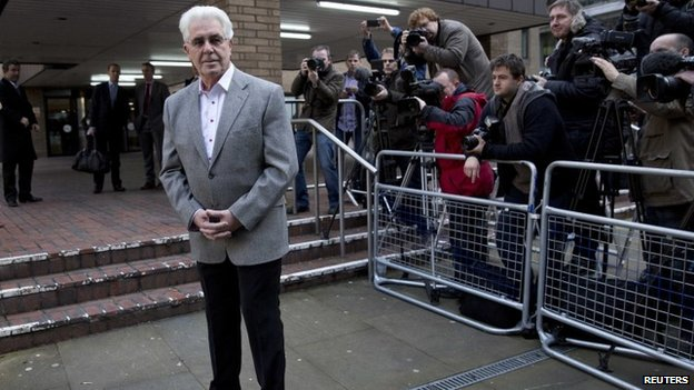 Max Clifford arriving at court