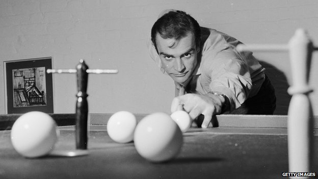 Sean Connery in 1962