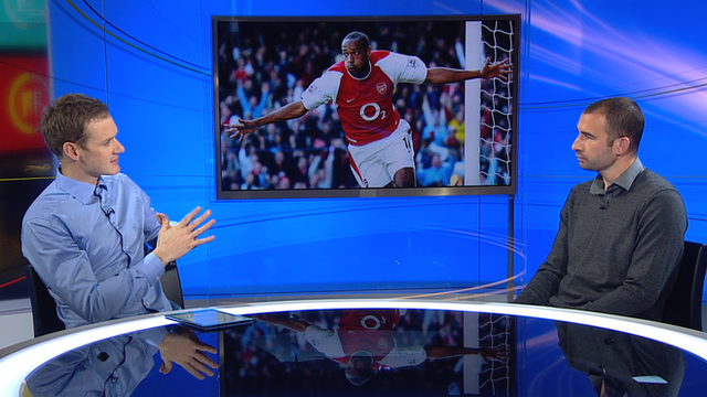 Dan Walker and Danny Higginbotham talk about Thierry Henry