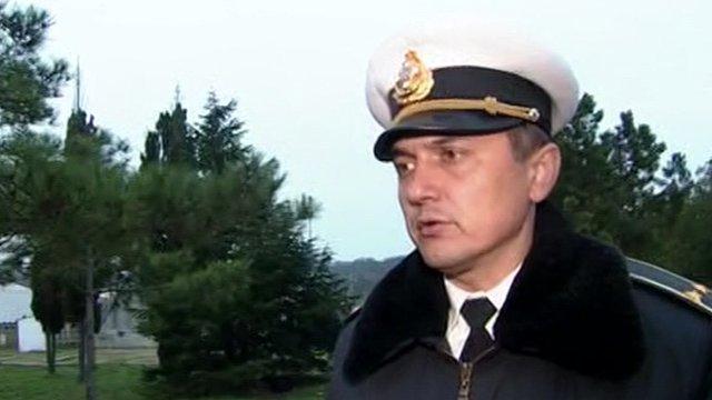 Lt Cdr Olaxander Yesin