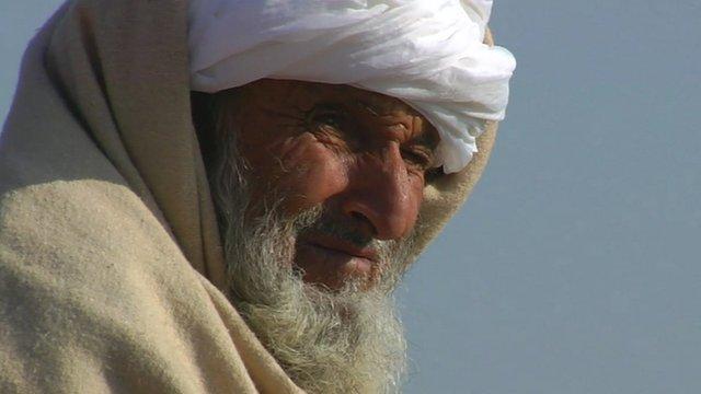 Man in Afghanistan
