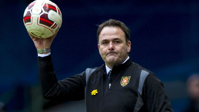 Interview - Albion Rovers boss James Ward