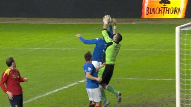 Moment that kept Rangers in Cup