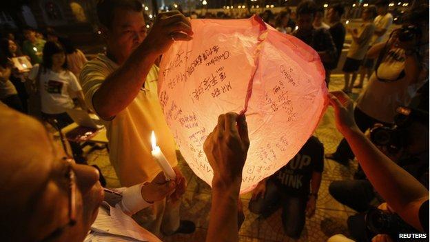 Vigil in Kuala Lumpur (10 March 2014)