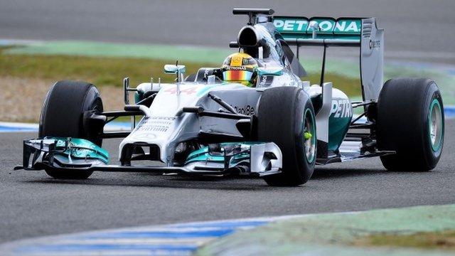 BBC team feel Lewis Hamilton can win the 2014 Formula 1 title